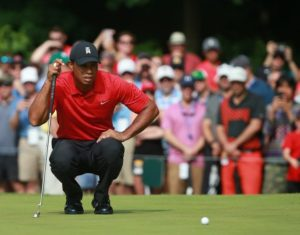 Tiger Woods is back at the Quicken Loans National this weekend. (Photo: Getty Images)