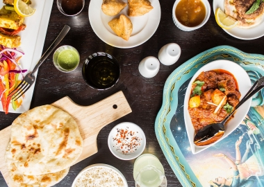 Pappe Indian restaurant is now open on 14th Street NW serving mostly Northern Indian dishes. (Photo: Reema Desai)