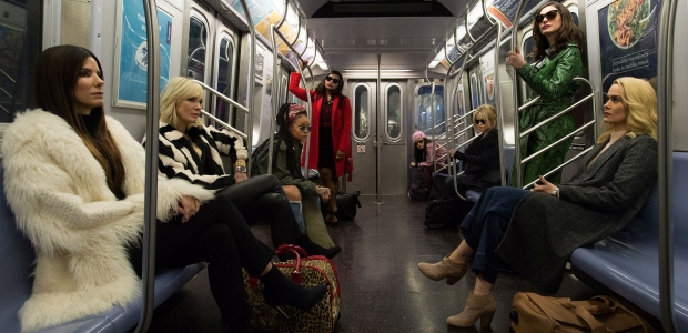 Ocean's 8, a series reboot with an all-female cast, finished first at the box office over the weekend with $41.61 million. (Photo: Warner Bros. Pictures)