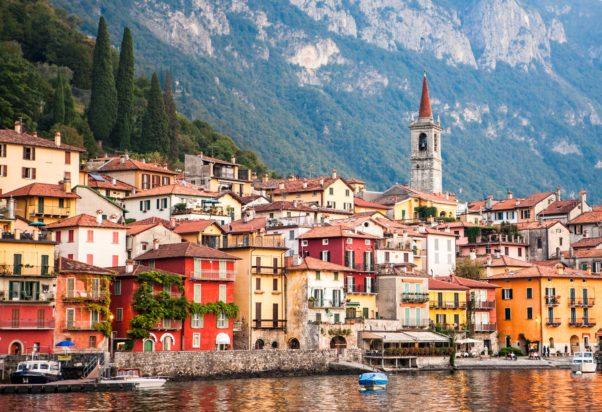 The town of Varenna on Lake Como in Italy. (Photo: James Brandon Photography)