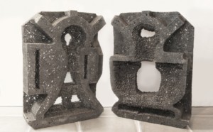 <em>Between: Kitchenaid Mixer</em> styrofoam cast in pewter by Valentia Dale. (Photo: National Museum of Women in the Arts)