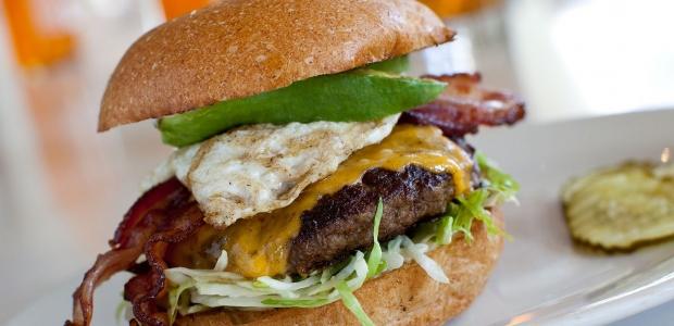 The winner of the Zinburger Burger Battle wins a grill and a $500 gift certificate. (Photo: Zinburger Wine & Burger Bar)
