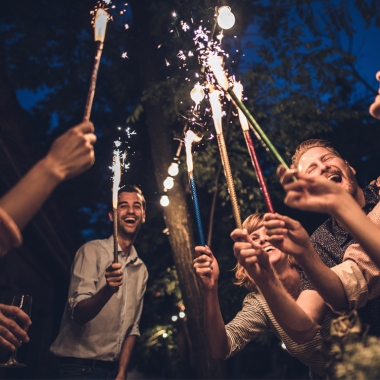Nearly one-thrid of all fireworks injuries are caused by sparklers. (Photo: skynesher/Getty Images)