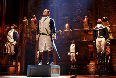 Hamiltonis playing at the Kennedy Center through Sept. 16. (Photo: Joan Marcus)