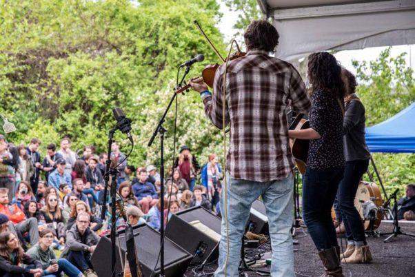 The ninth annual Kingman Bluegrass & Folk Festival comes to D.C.'s Kingman Island this weekend. (Photo: Kingman Island Bluegrass & Folk Festival)