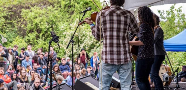 The ninth annual Kingman Bluegrass & Folk Festival comes to D.C.'s Kingman Island this weekend. (Photo: Kingman Island Bluegrass & Folk Festival)