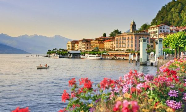 Lake Como, Italy, with a view of the Alps in the background. (Photo: Getty Images)