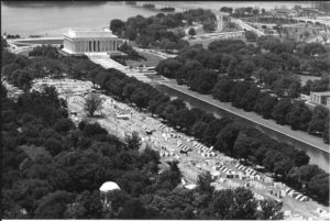 Protests on the National Mall were part of the Poor Peoples Campaign. (Photo: Oliver F. Atkins/George Mason University Libraries)