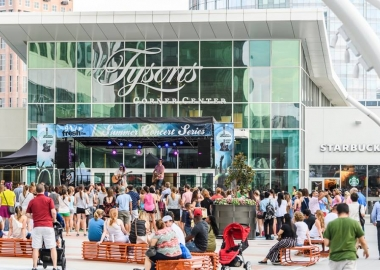 Tyson Corner Center's Summer Concert Series returns for the season tonight with Mat Kearney from 6:30-8 p.m. on The Plaza. (Photo: Tysons Corner Center)