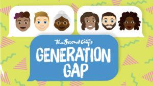 Second City brings <em>Generation Gap</em> to the Kennedy Center. (Image: Second City)
