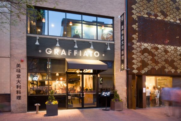 Graffiatto in Chinatown appears to have closed. It is the third of Mike Isabella's restaurants to shutter since he and his partners were sued for sexual harassment. (Photo: Douglas Development)