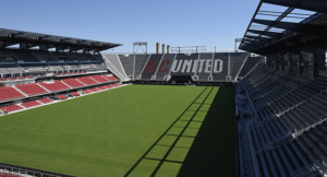 Audi Field in Buzzard Point is ready for its inaugural soccer game as D.C. United takes on the Vancouver Whitecaps at 8 p.m. Saturday. (Phtoo: Major League Soccer)