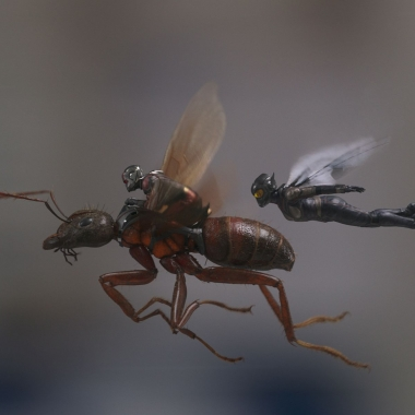 Ant-Man and the Wasp led the box office last weekend with $75.81 million. (Photo: Marvel Studios)
