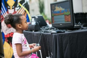 Play video game at the SAAM Arcade on Sunday. (Photo: Daniel Schwartz Photography)
