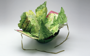 <em>Salad Green<em> by Katherine A. Glove is one of the books on display. (Photo: National Museum of Women in the Arts)