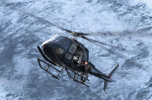 <em>Mission: Impossible – Fallout</em> led at the box office with $61.24 million, the franchise's highest opening yet. (Photo: Paramount Pictures)