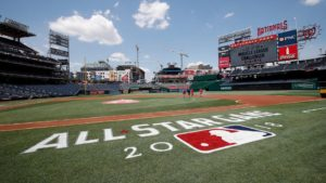 Nationals Park is ready for the 89th MLB All-Star game at 8 p.m. on Tuesday. (Photo: MLB)