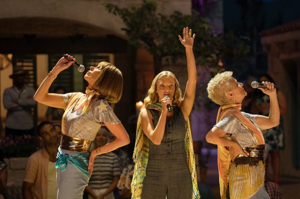 <em>Mamma Mia! Here We Go Again</em> debuted in second place with $34.95 million. (Photo; Universal Pictures)