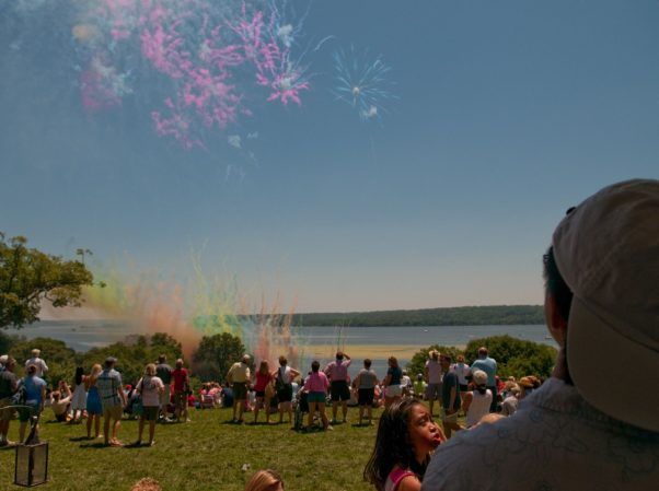 Mount Vernon will have special daytime fireworks along with a naturalization ceremony on July 4. (Photo: Rod Lamkey Jr.)