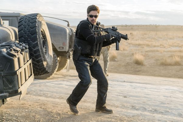 The highest debuting new release last weekend was <em>Sicario: Day of the Soldado</em> in third place with $19.01 million. (Photo: Sony Pictures)
