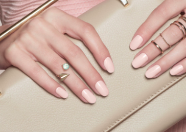 Choosing a pastel nail color for wedding guest pictures is a good move to make. (Photo: OPI)