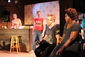 <em>Shopworn</em>, part of the Capital Fringe Festival, is about race, family and heritage. See it Saturday at 9:15 p.m. at Christ United Methodist Church, 900 Fourth St. SW. (Photo: Mark Heckathorn/DC on Heels)