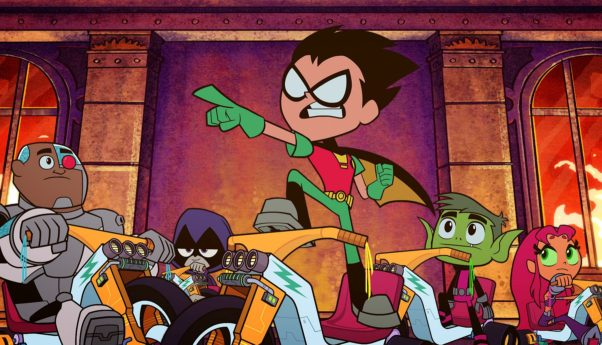 Last weekend's other new movie, <em>Teen Titans Go! To the Movies</em>, opened with $10.41 million. (Photo: Warner Bros. Pictures)