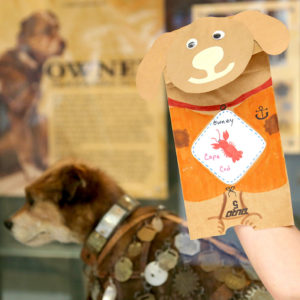 Learn about Owney, the postal service's mascot, while playing games, making crafts and maybe adopting a dog of your own Saturday and Sunday. (Photo: National Postal Museum)