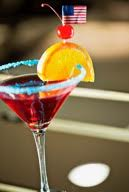Jardenea Lounge is celebrating Independence Day with a red, white and blue martini. (Photo: Jardenea Lounge)