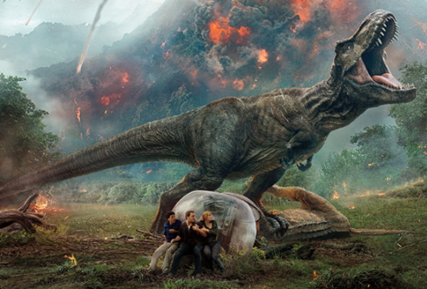 <em>Jurassic World: Fallen Kingdom</em> held onto first place for the second weekend with $148.02 million. (Photo: Universal PIctures)