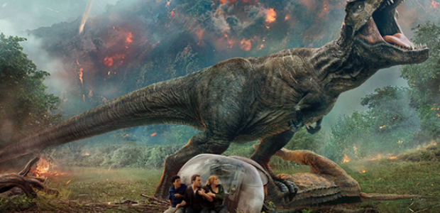 Jurassic World: Fallen Kingdom held onto first place for the second weekend with $148.02 million. (Photo: Universal PIctures)