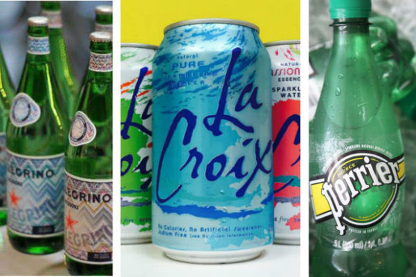 Carbonated water will hydrate just as well as still water. (Photo: Manufacturers)