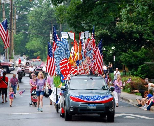 Takoma Park's celebration begins with a parade at 10 a.m. and ends with fireworks at 9:30 p.m. (Photo: Takoma Park Indpendence Day Committee)