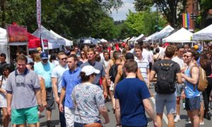 The 17th Street Festival is a block party with more than 100 vendors and artisans and features live entertainment. (Photo: 17th Street Festival)