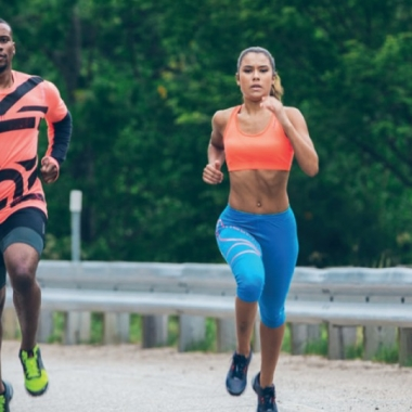 Make your partner your running mate. (Photo: Rebok)