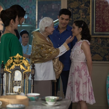 Crazy Rich Asians led for a second weekend with $24.81 million, a 6.4 percent drop for its deubt. That is the smallest second-weekend drop in 2018. (Photo: Warner Bros. Pictures)