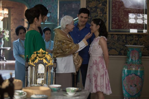<em>Crazy Rich Asians</em> led for a second weekend with  $24.81 million, a 6.4 percent drop for its deubt. That is the smallest second-weekend drop in 2018. (Photo: Warner Bros. Pictures)