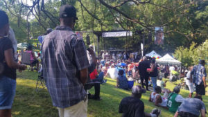 Chuck Brown Day returns to Chuck Brown Memorial Park on Saturday with plenty of his music. (Photo: Kathy Stewrt/WTOP)