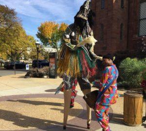 The National Museum of African Art hosts a communtiy day on Saturday. (Photo: Gathoni Kamau)