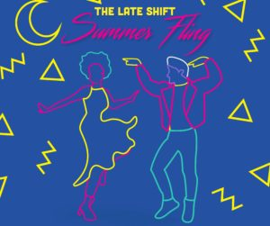 The Late Shift: Summer Fling celebrates the Torpedo Factory's almost five decades with music, hands-on activities and more on Friday. (Graphic: Torpedo Factory)