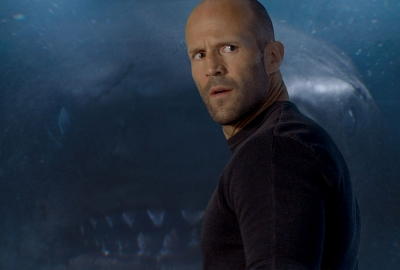 The Meg, about a giant shark, debuted in first place last weekend with $45.40 million. (Photo: Warner Bros. Pictures)