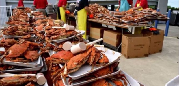 The world's largest crab feast sponsored by the Rotary Club of Annapolis returns to Navy-Marine Corps Memorial Stadium from 5-8 p.m. on Friday. (Photo: Rotary Club of Annapolis)