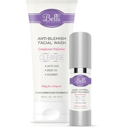 Belli Beauty's Anti-Blemish Facial Wash smells like cucumbers and leaves your face silky smooth. (Photo: Belli Beauty)