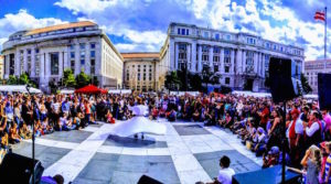 Syria Fest takes place at Freedom Plaza from 11 a.m.-7 p.m. on Sunday. (Photo: Mai El-Sadany)