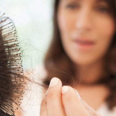 Hair breakage is different from hair loss in that hair loss comes from your scalp vs. the middle to end of your strands. (Photo: Getty Images)
