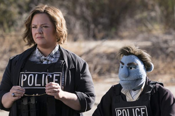 The R-rated comedy <em>The Happytime Murders</strong></em> debuted with $9.53 million, well below expectations. (Photo: STX Entertainment)