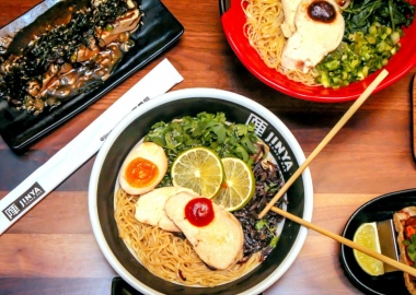 Jinya Ramen Bar serves Tonkotsu-style ramen. (Photo: Jinya Ramen Bar)