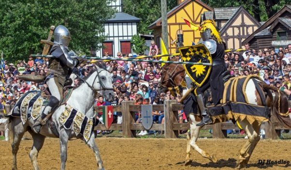 The Maryland Renaissance Festival returns outside Annapolis this weekend with King Henry VIII, his court and jousting. (Photo: Donna Headlee)