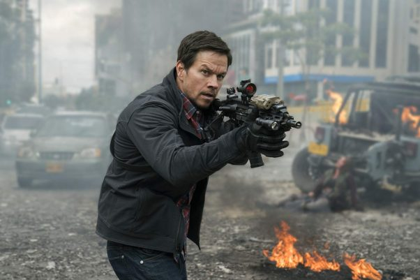 <em>Mile 22</em> starring Mark Wahlberg opened with $13.71 million in third place. (Photo: STX Entertainment)