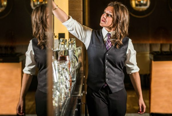 Sarah Rosner, formerly of Radiator, is the new head bartender at Bourbon Steak. (Photo: Bourbon Steak)